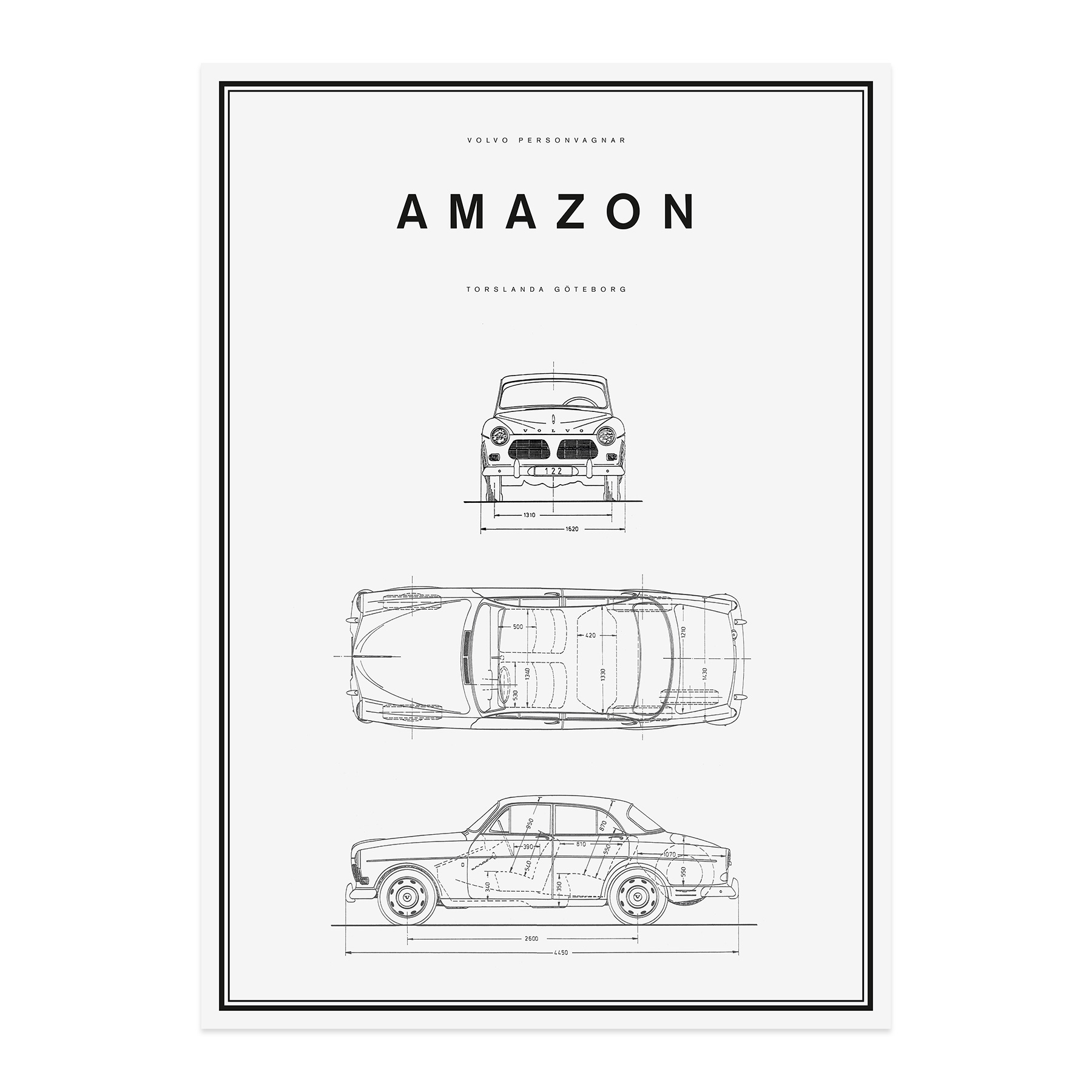 Line Drawing Poster : Volvo car lifestyle collection shop amazon line drawing