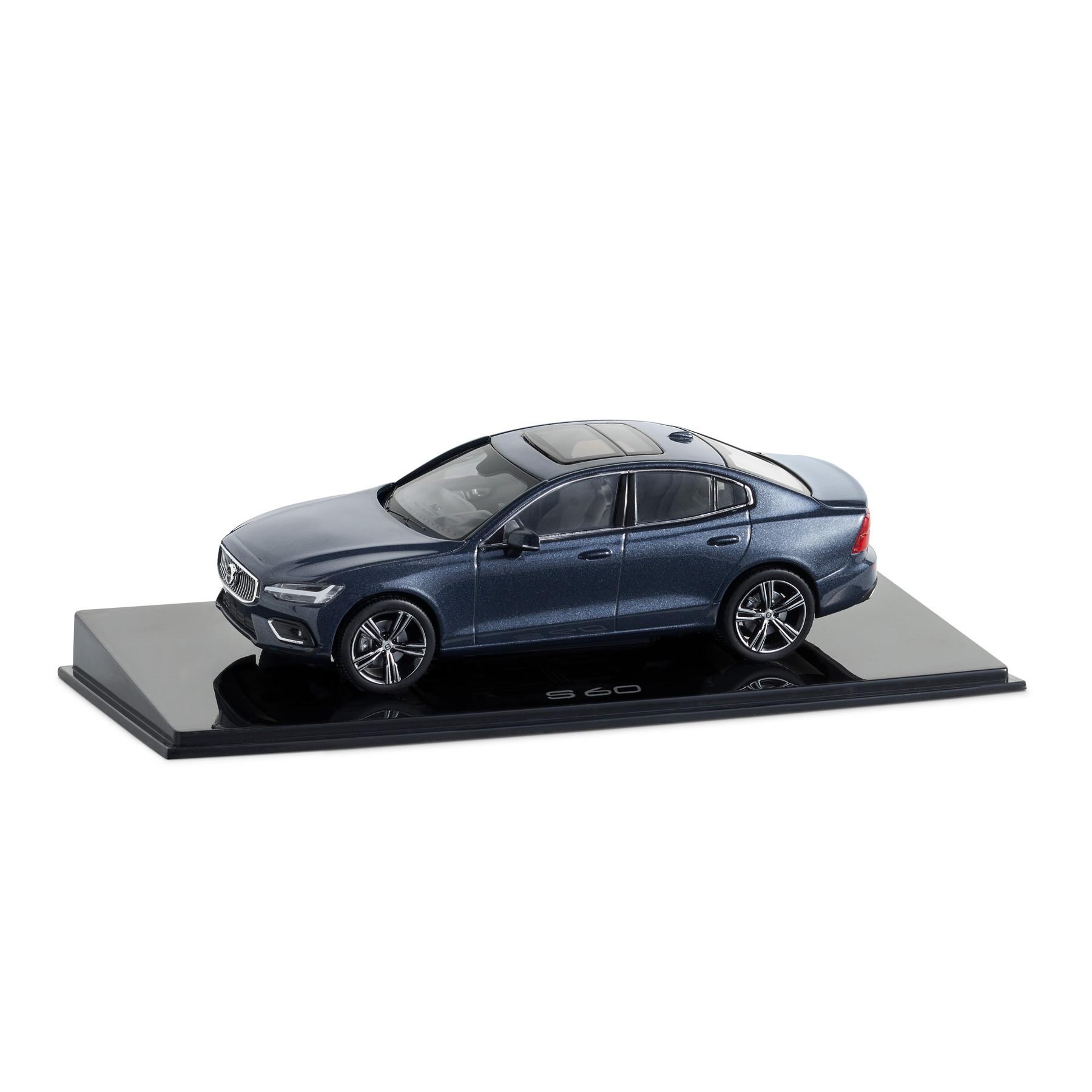 volvo car lifestyle collection shop  s60 1 43 denim blue