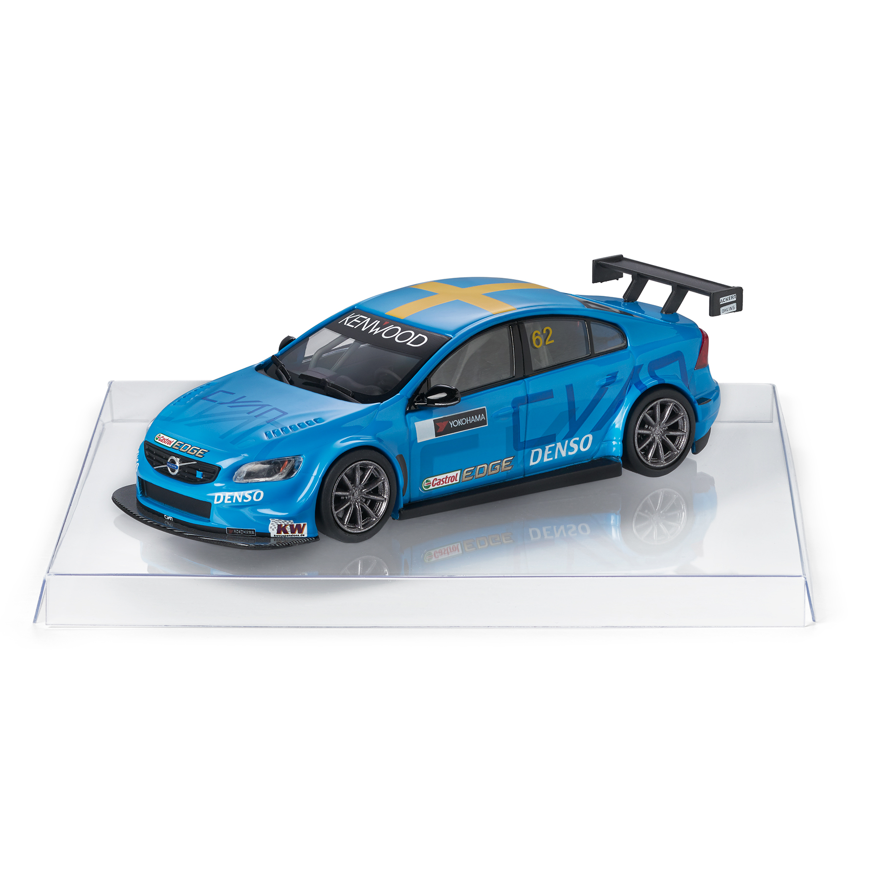 Volvo Car Lifestyle Collection Shop. Cyan Polestar S60 WTCC Polestar 1:43